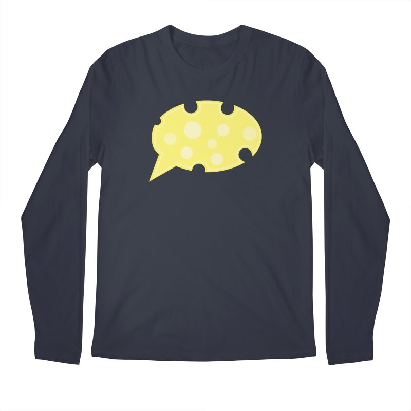 Say Cheese! Men's Regular Longsleeve T-Shirt by Avo G'day!