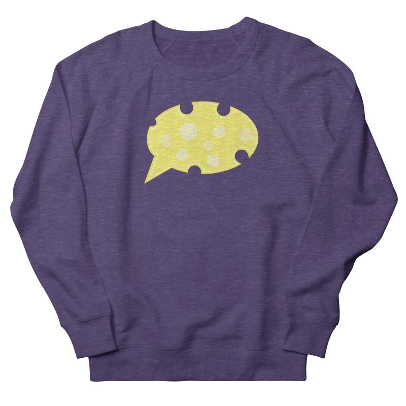 Say Cheese! Men's French Terry Sweatshirt by Avo G'day!