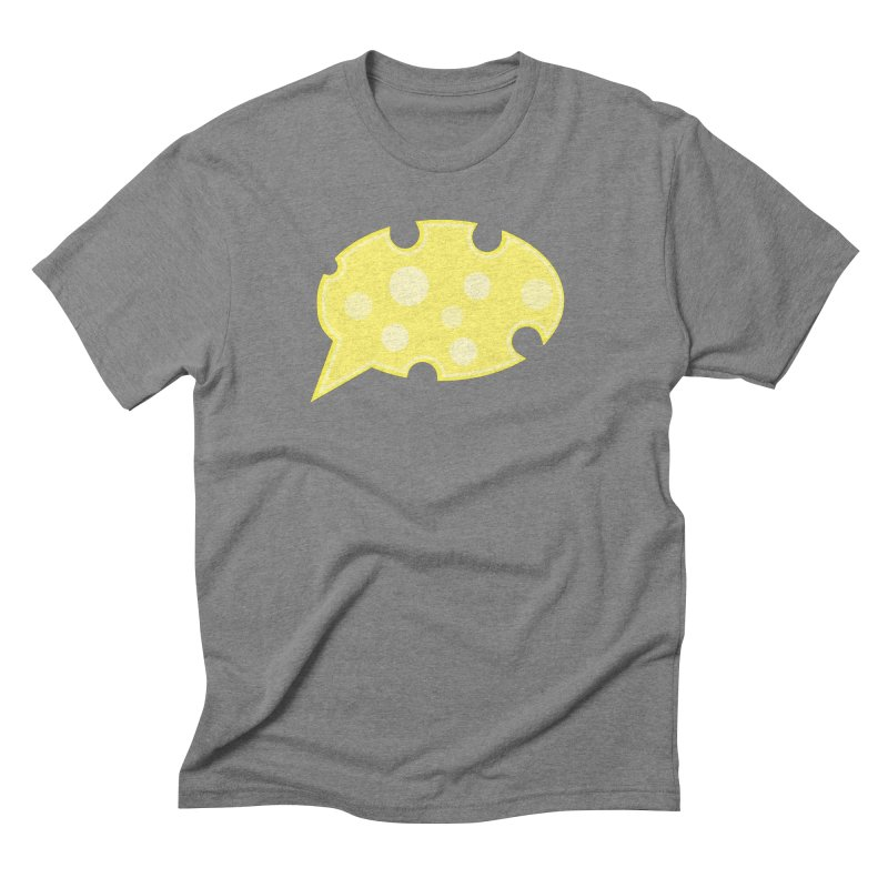 Say Cheese! Men's Triblend T-Shirt by Avo G'day!