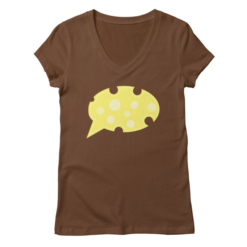Say Cheese! Women's V-Neck by Avo G'day!