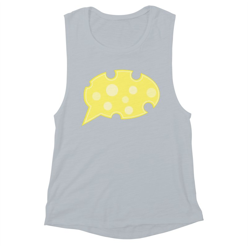 Say Cheese! Women's Muscle Tank by Avo G'day!