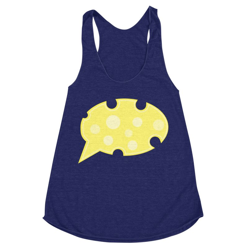 Say Cheese! Women's Racerback Triblend Tank by Avo G'day!