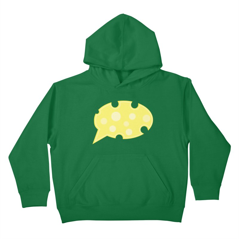 Say Cheese! Kids Pullover Hoody by Avo G'day!