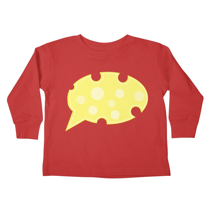 Say Cheese! Kids Toddler Longsleeve T-Shirt by Avo G'day!