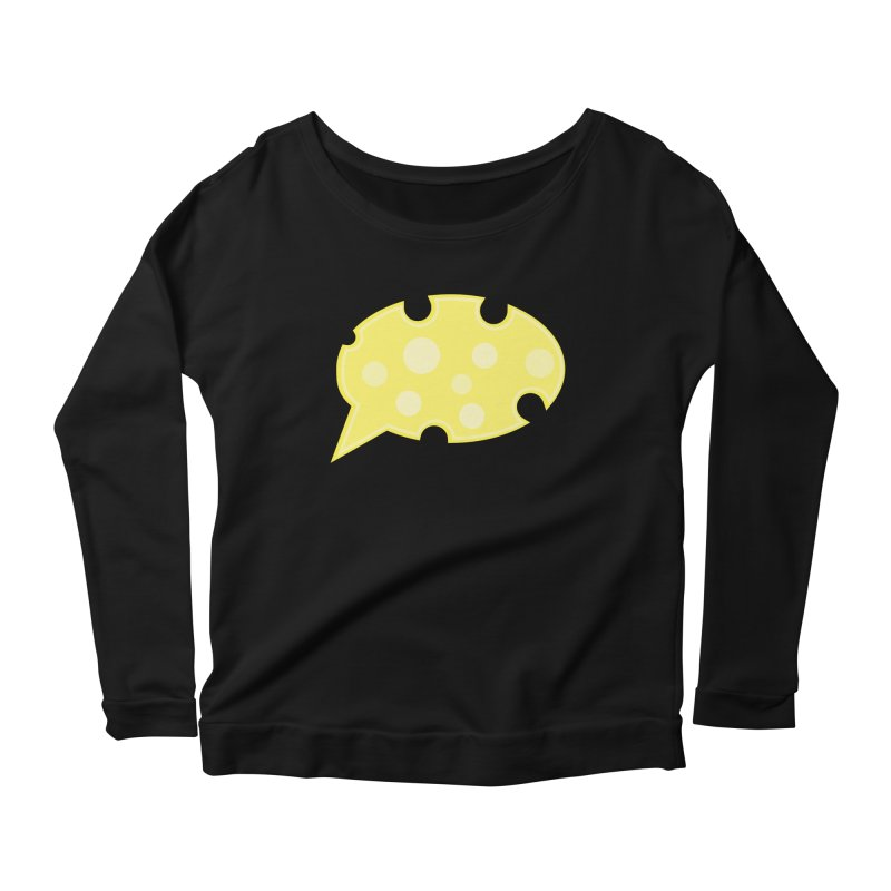 Say Cheese! Women's Scoop Neck Longsleeve T-Shirt by Avo G'day!