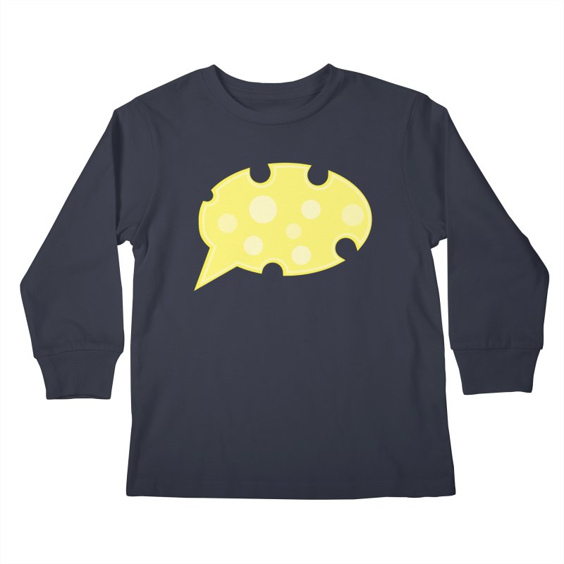 Say Cheese! Kids Longsleeve T-Shirt by Avo G'day!
