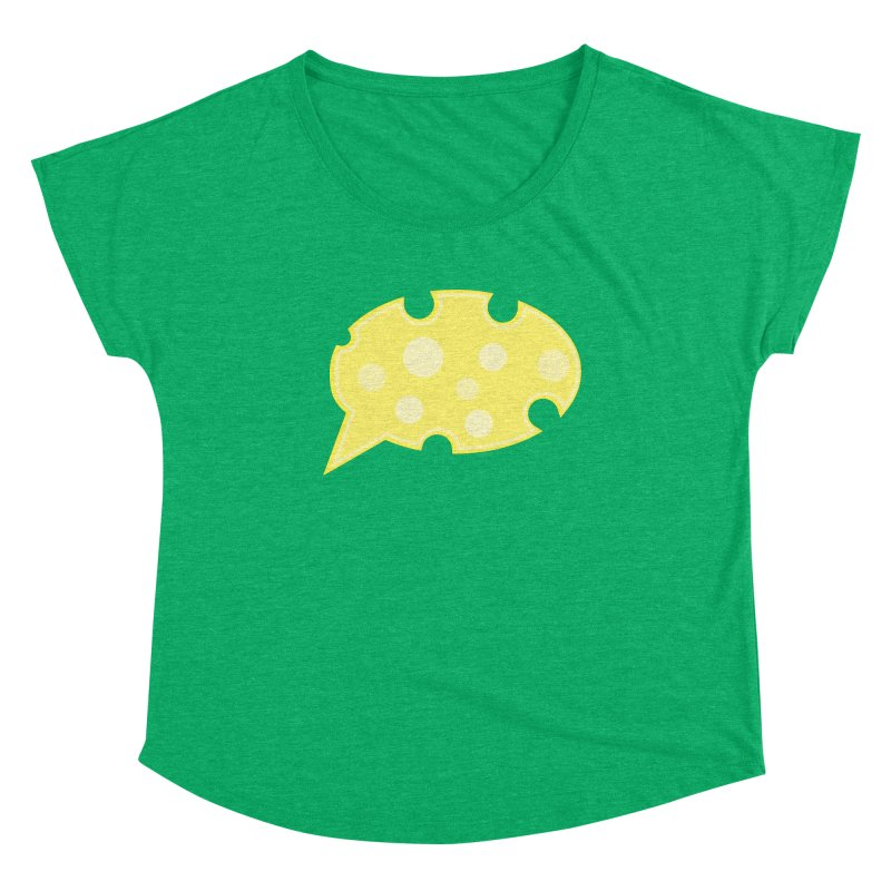 Say Cheese! Women's Scoop Neck by Avo G'day!