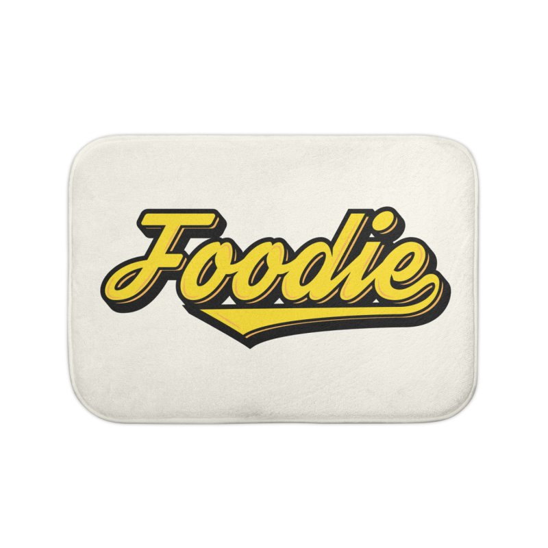 Foodie Home Bath Mat by Avo G'day!
