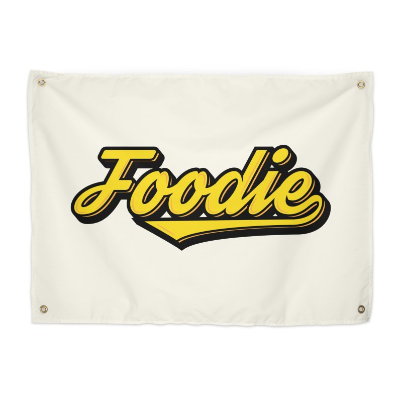 Foodie Home Tapestry by Avo G'day!