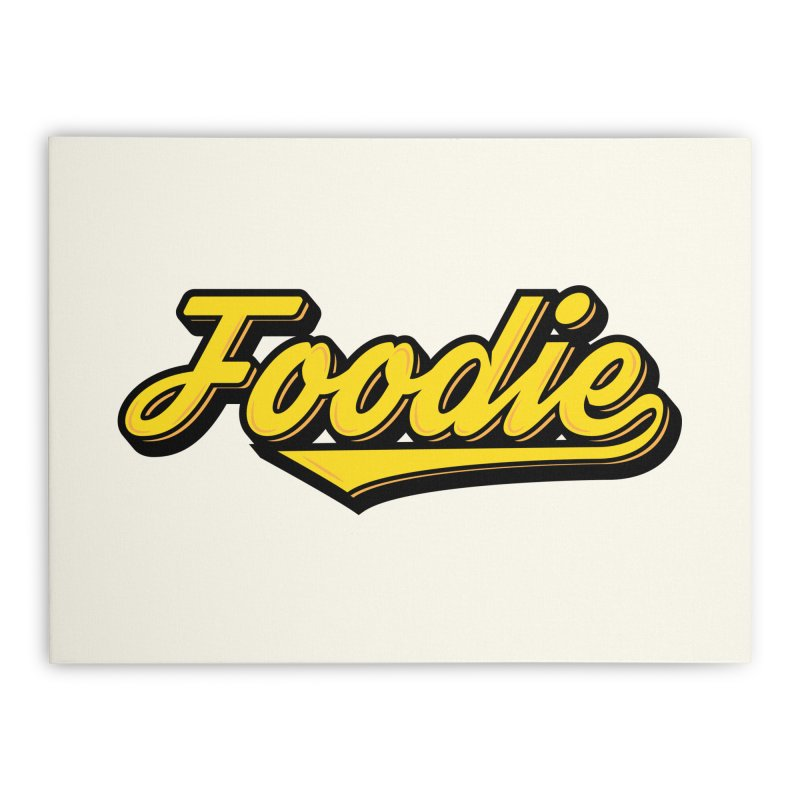 Foodie Home Stretched Canvas by Avo G'day!