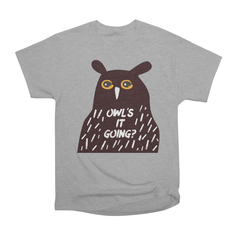 Owl's It Going? Men's T-Shirt by Avo G'day!