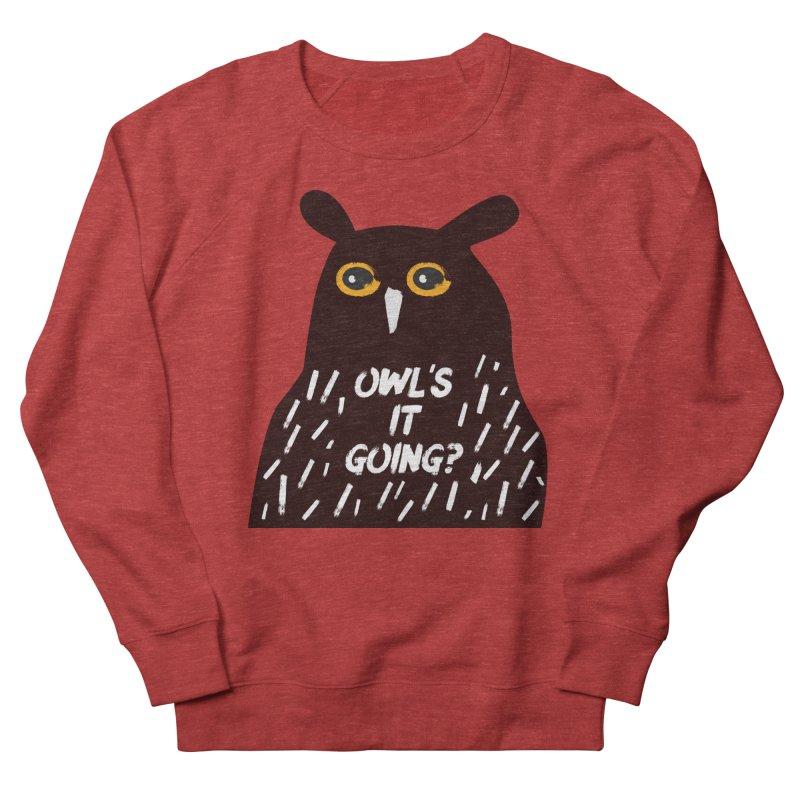 Owl's It Going? Women's Sweatshirt by Avo G'day!