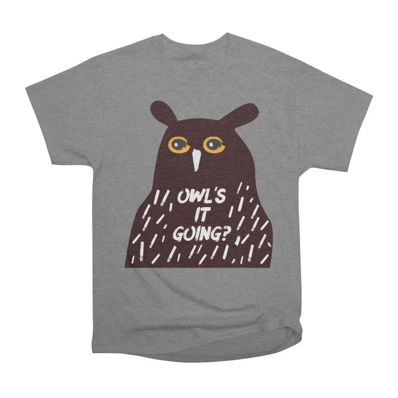 Owl's It Going? Women's T-Shirt by Avo G'day!
