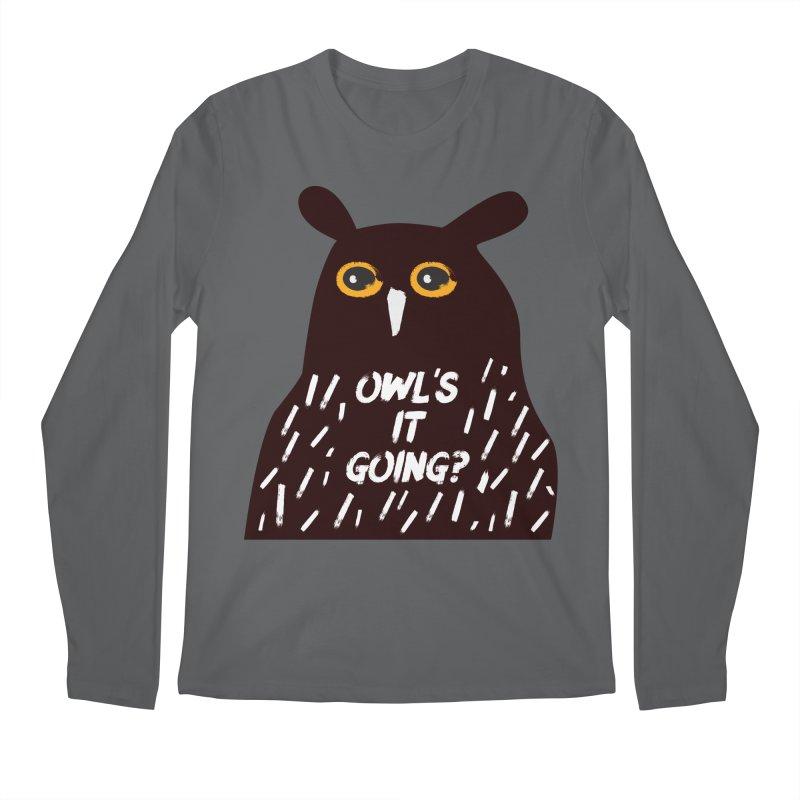 Owl's It Going? Men's Regular Longsleeve T-Shirt by Avo G'day!