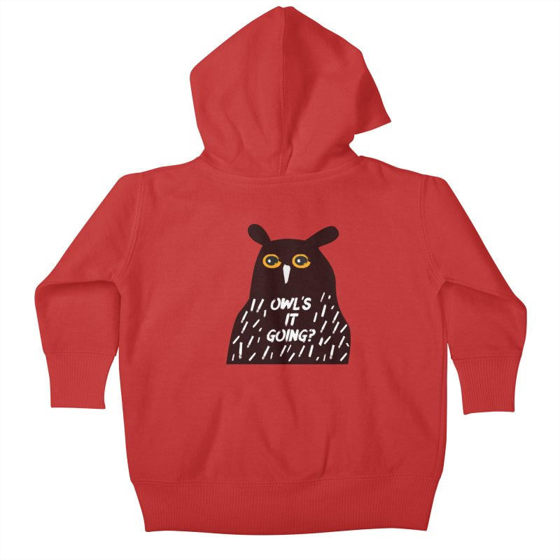 Owl's It Going? Kids Baby Zip-Up Hoody by Avo G'day!