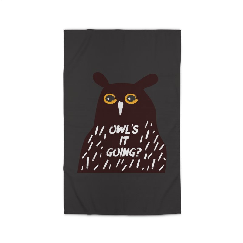 Owl's It Going? Home Rug by Avo G'day!