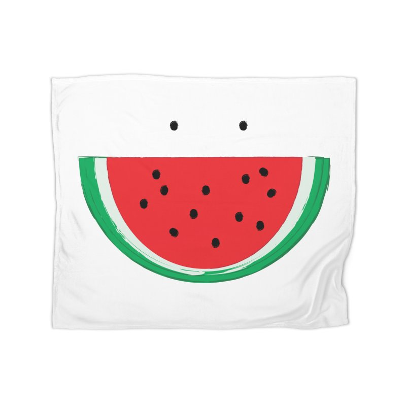 Happy Watermelon Home Blanket by Avo G'day!