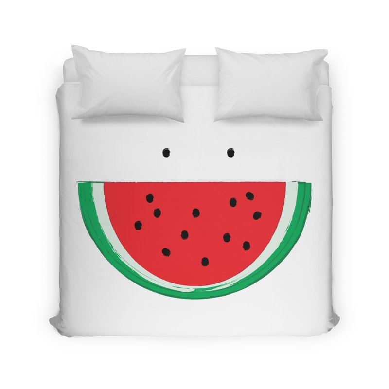 Happy Watermelon Home Duvet by Avo G'day!