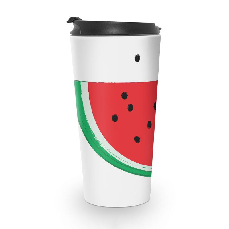 Happy Watermelon Accessories Travel Mug by Avo G'day!