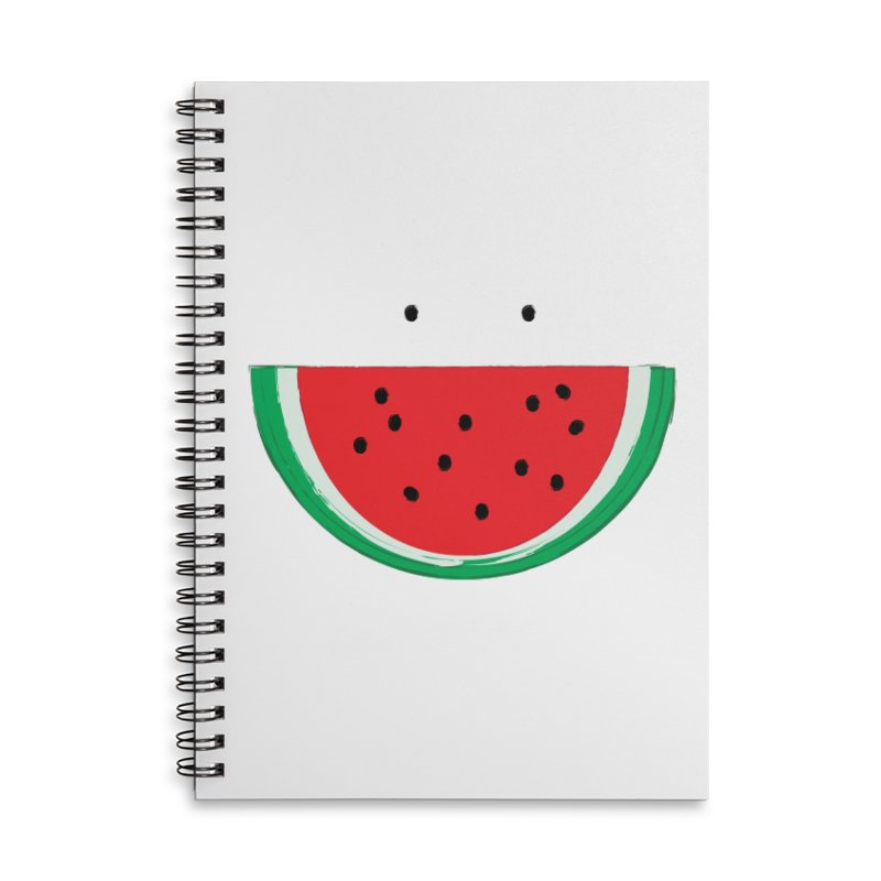 Happy Watermelon Accessories Notebook by Avo G'day!
