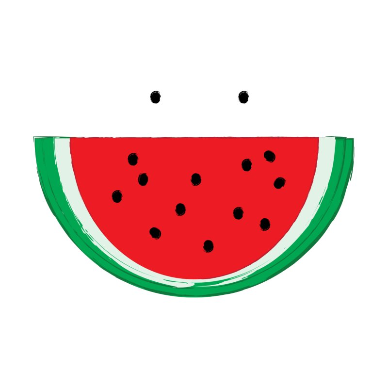 Happy Watermelon Men's T-Shirt by Avo G'day!
