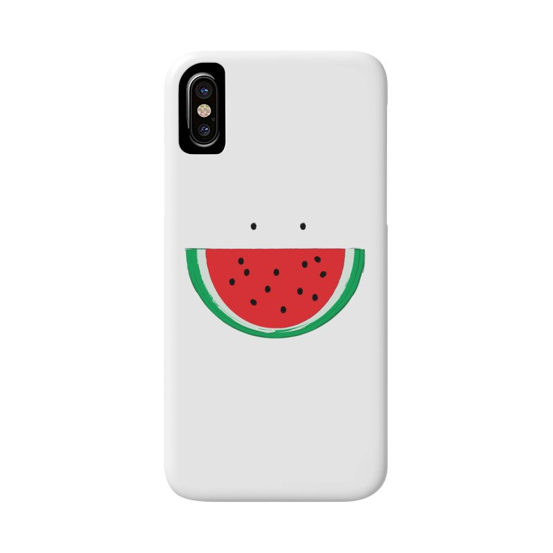 Happy Watermelon Accessories Phone Case by Avo G'day!