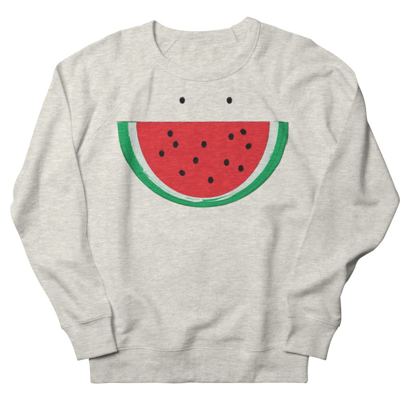 Happy Watermelon Men's Sweatshirt by Avo G'day!