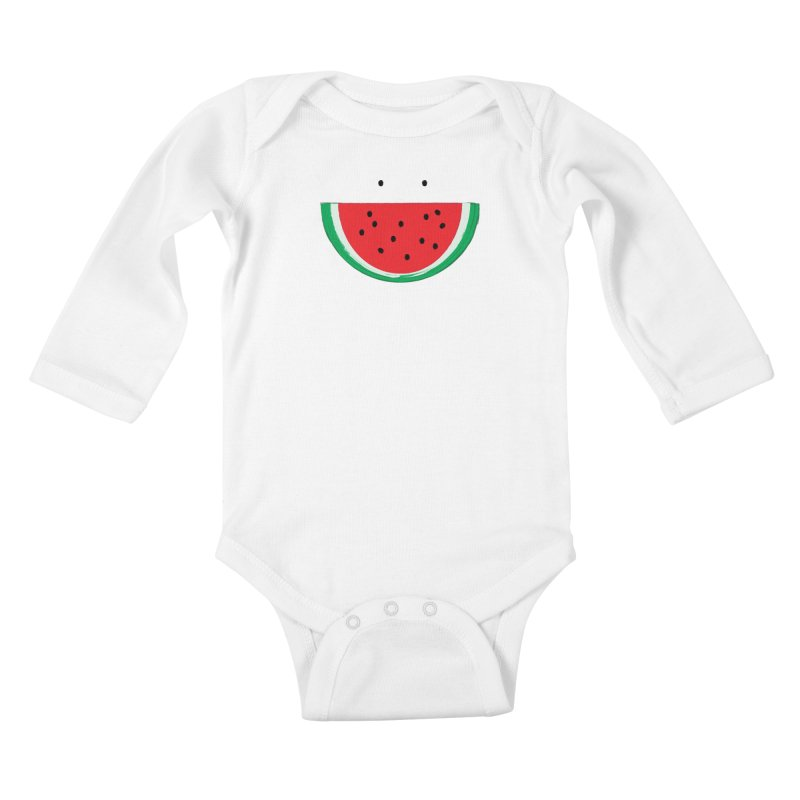 Happy Watermelon Kids Baby Longsleeve Bodysuit by Avo G'day!