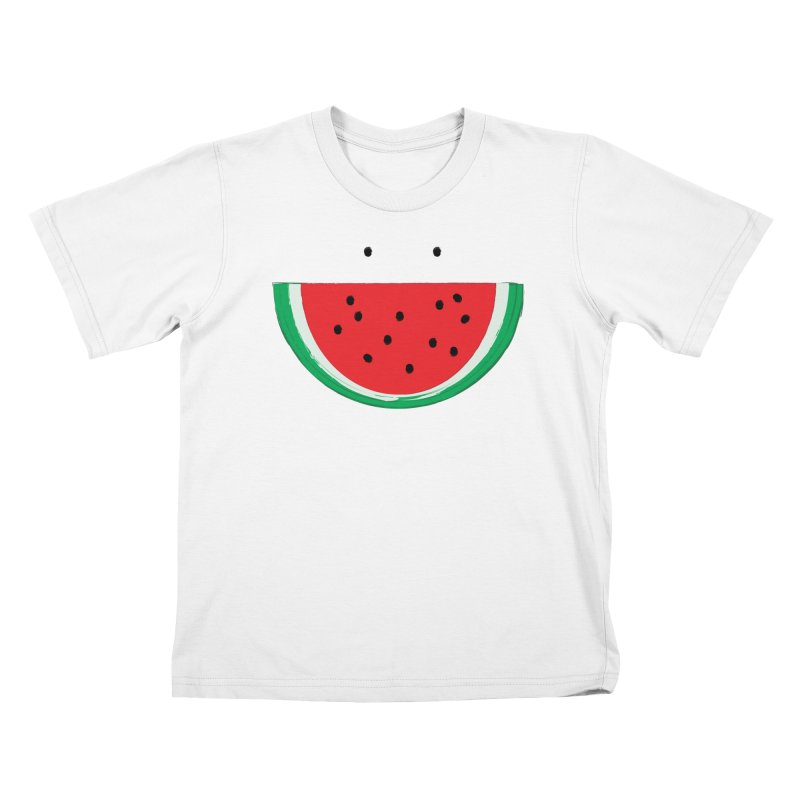 Happy Watermelon Kids Toddler T-Shirt by Avo G'day!