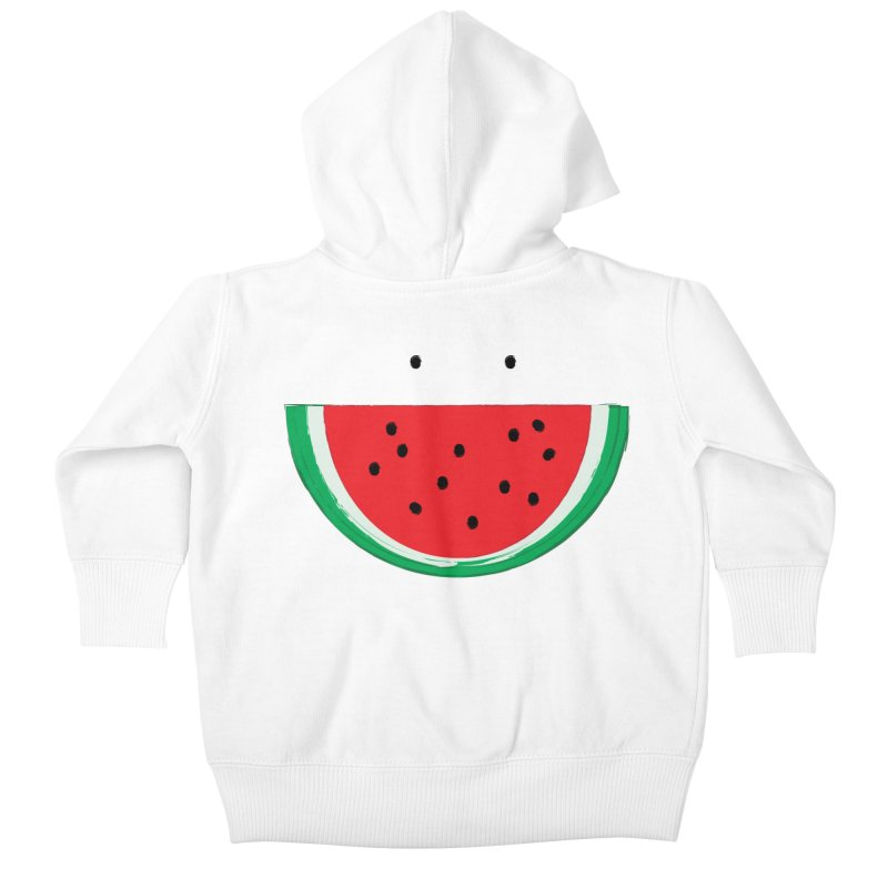 Happy Watermelon Kids Baby Zip-Up Hoody by Avo G'day!