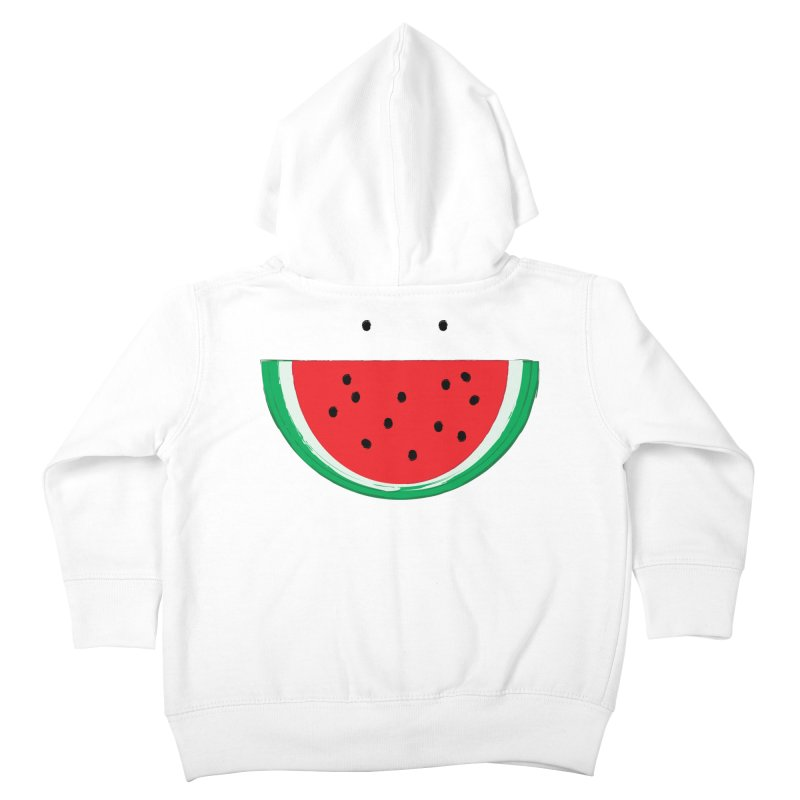 Happy Watermelon Kids Toddler Zip-Up Hoody by Avo G'day!