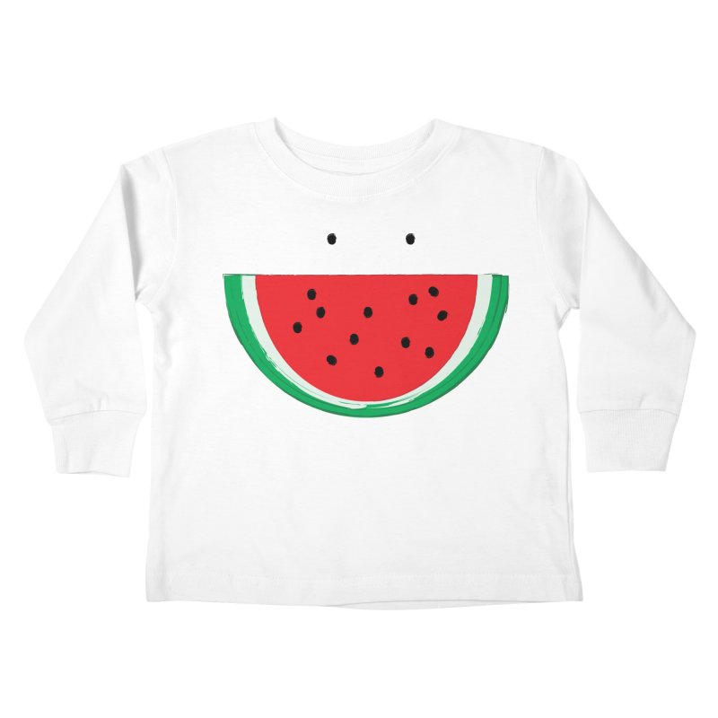Happy Watermelon Kids Toddler Longsleeve T-Shirt by Avo G'day!