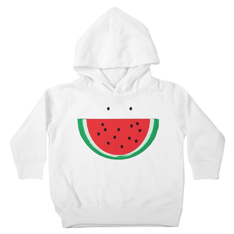 Happy Watermelon Kids Toddler Pullover Hoody by Avo G'day!