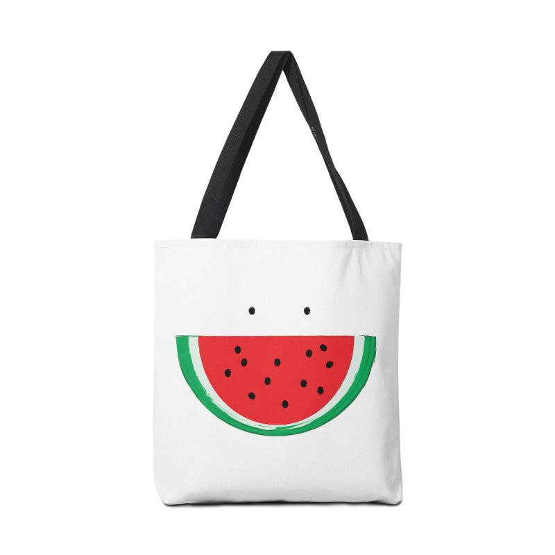 Happy Watermelon Accessories Tote Bag Bag by Avo G'day!