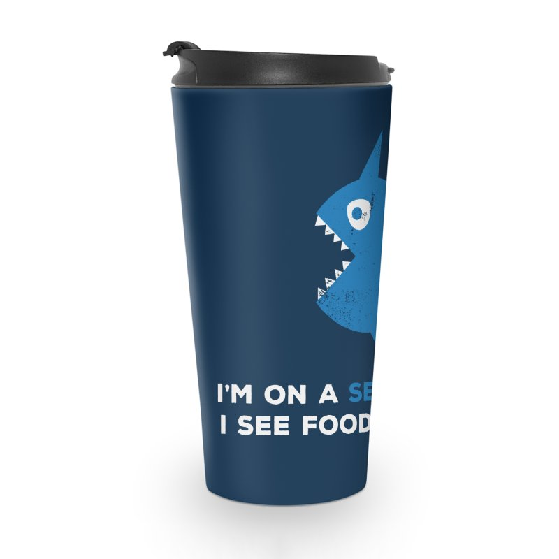 Seafood Diet Accessories Mug by Avo G'day!