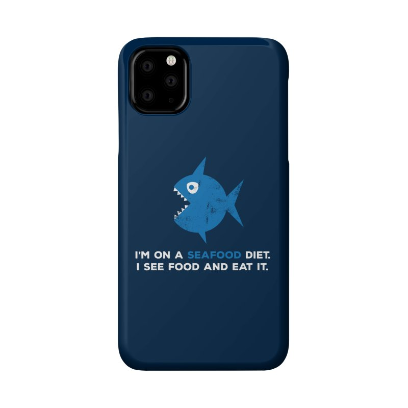 Seafood Diet Accessories Phone Case by Avo G'day!