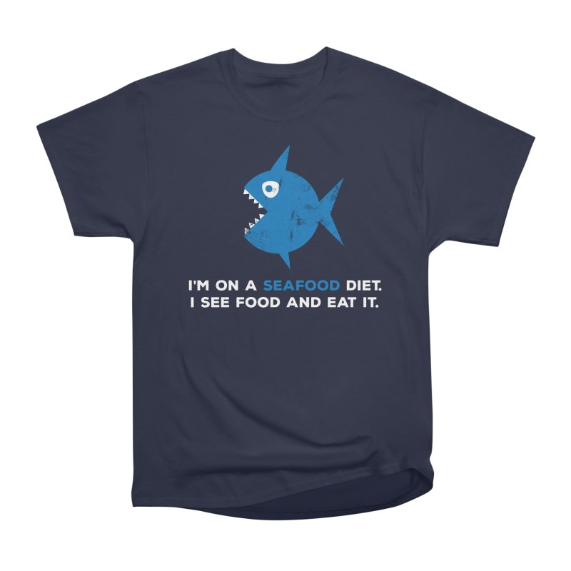 Seafood Diet Men's Heavyweight T-Shirt by Avo G'day!