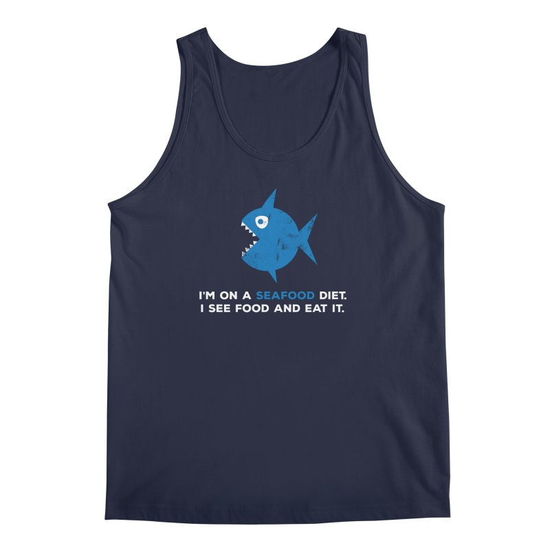 Seafood Diet Men's Tank by Avo G'day!