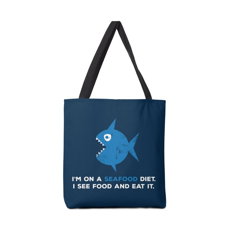 Seafood Diet Accessories Tote Bag Bag by Avo G'day!