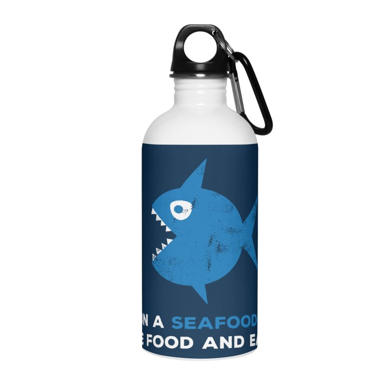 Seafood Diet Accessories Water Bottle by Avo G'day!
