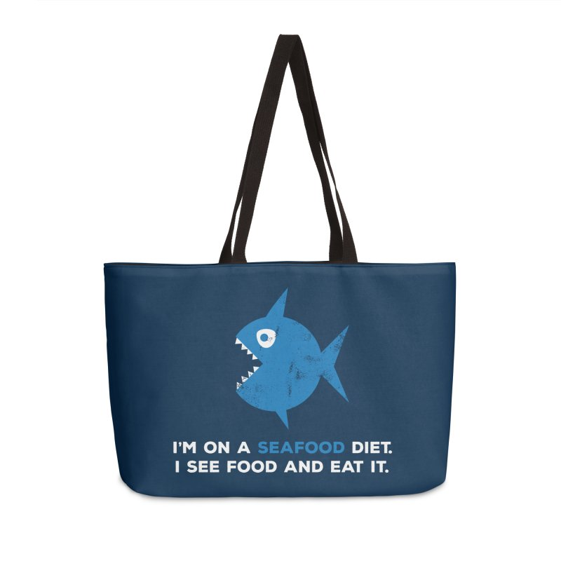 Seafood Diet Accessories Weekender Bag Bag by Avo G'day!