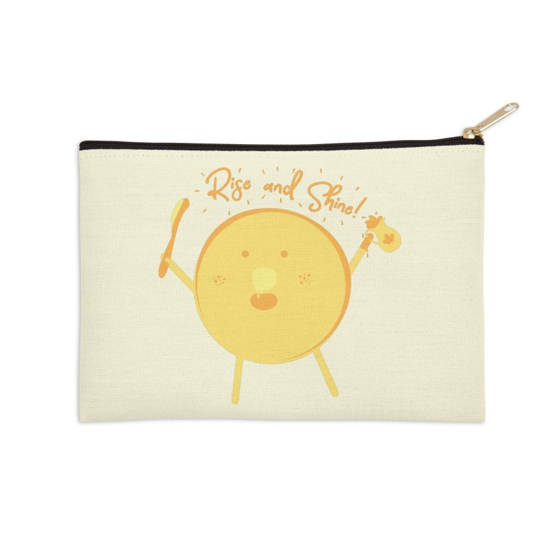 Rise and Shine! Accessories Zip Pouch by Avo G'day!
