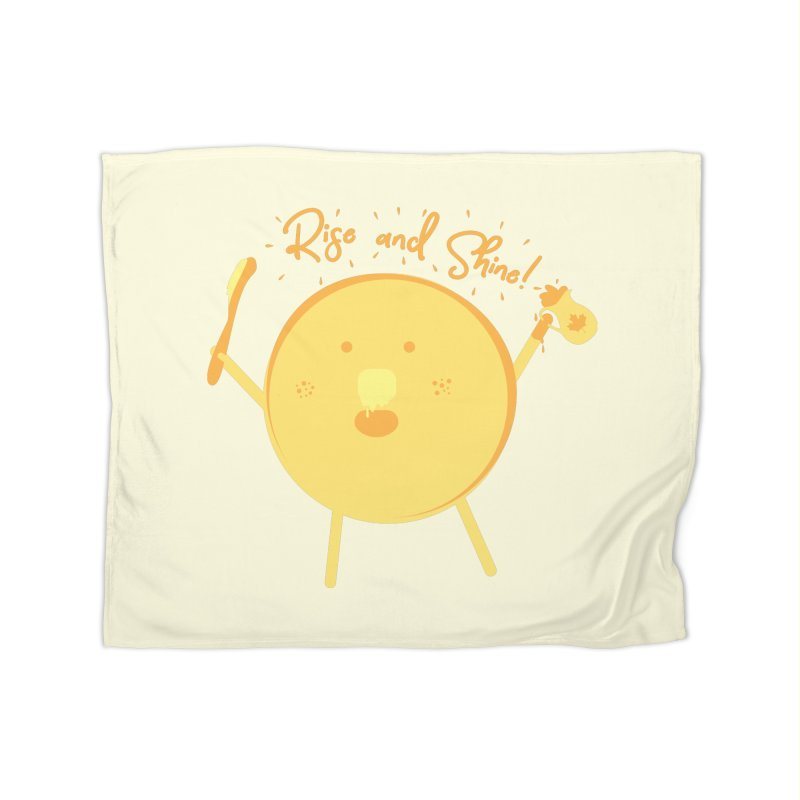 Rise and Shine! Home Fleece Blanket Blanket by Avo G'day!