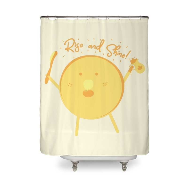 Rise and Shine! Home Shower Curtain by Avo G'day!
