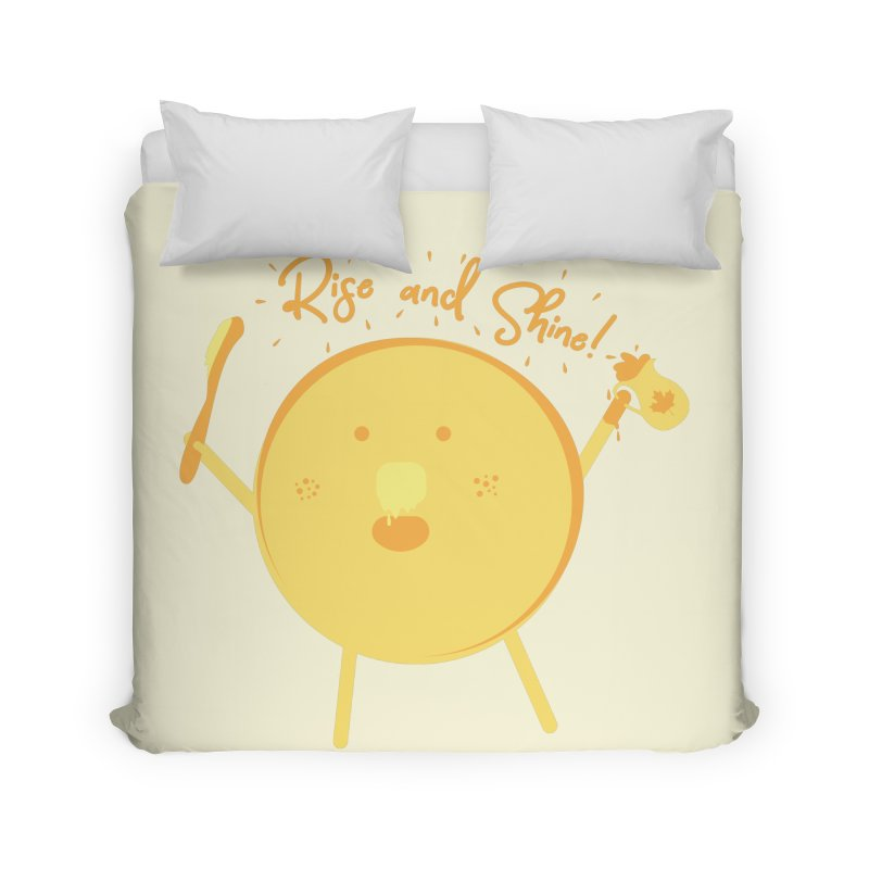 Rise and Shine! Home Duvet by Avo G'day!