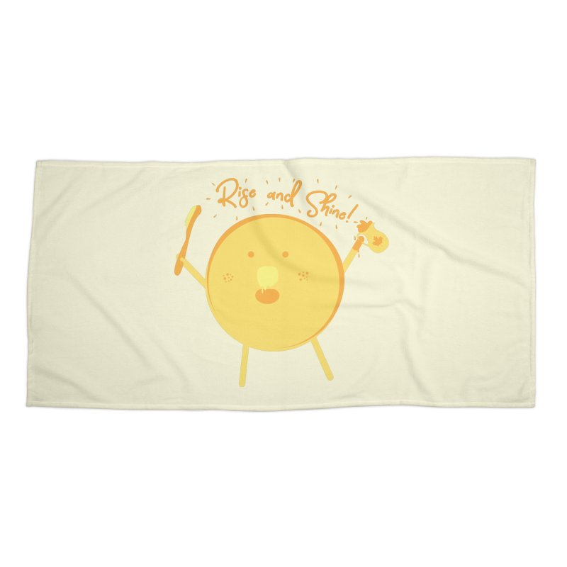 Rise and Shine! Accessories Beach Towel by Avo G'day!