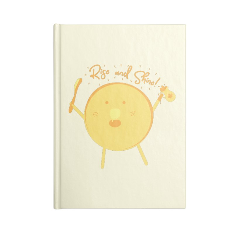 Rise and Shine! Accessories Lined Journal Notebook by Avo G'day!