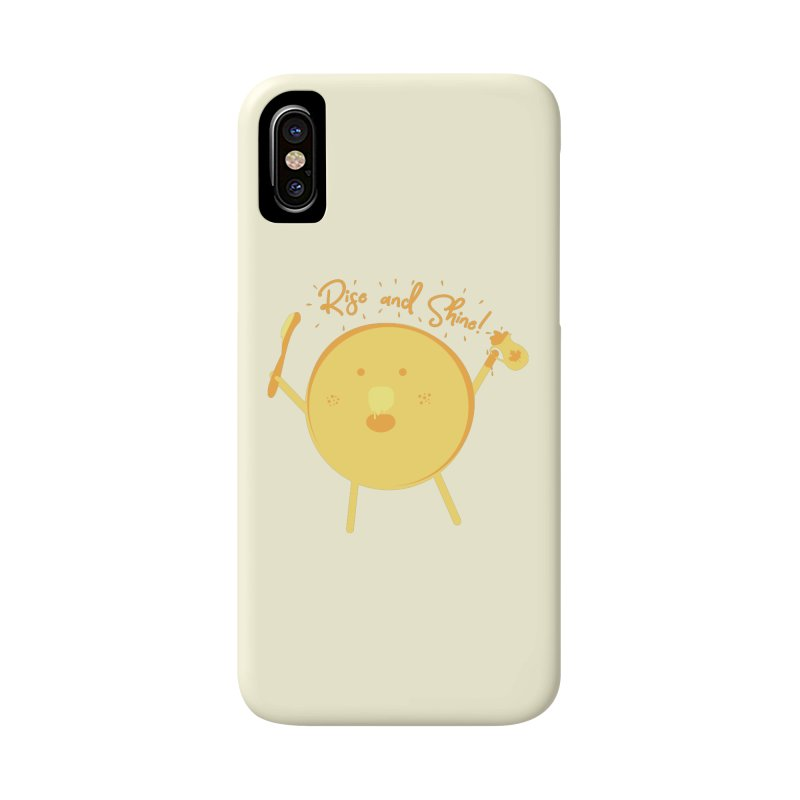 Rise and Shine! Accessories Phone Case by Avo G'day!