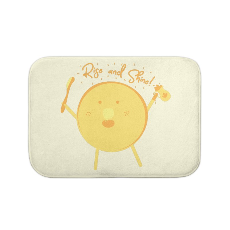 Rise and Shine! Home Bath Mat by Avo G'day!