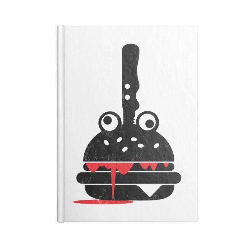 Burger Murder Accessories Notebook by Avo G'day!